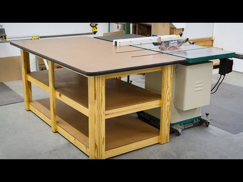 Build a Workbench / Outfeed Table