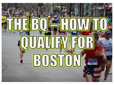 The BQ - Qualifying for the Boston Marathon - 2016