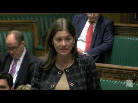 In Parliament asking about increasing routes into nursing