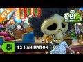 NEW | 좀비덤 시즌2 | EP51 아기 스컬 구출 작전 | Funny Cartoon | 좀비 | 할로윈 | 개그 | 코믹 애니메이션