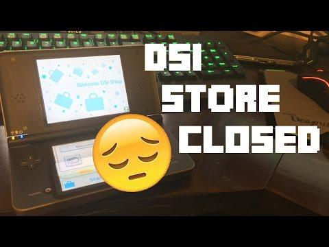 The DSI EShop has Finally Closed.