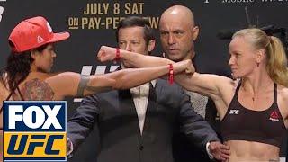 Amanda Nunes vs. Valentina Shevchenko | Weigh-In | UFC 213