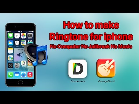 How to make customize Ringtone for IPHONE 7 & 7plus No Computer (No Jailbreak)