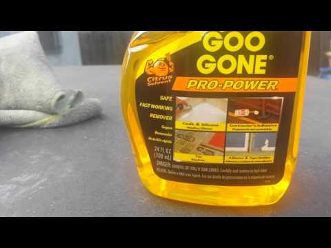 How to remove old sticky  tape,stickers,tar etc.