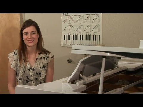 Tips on How to Remember Finger Piano Scales : Tips on Playing the Piano