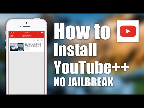 How to install youtube++ on iphone without jailbreak (2017)