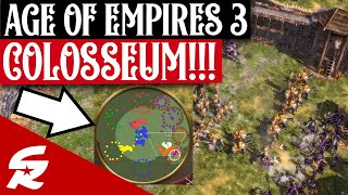 My first Wolloseum Game Ever!! | Classic & Casual | Age of Empires III