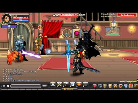 =Aqw= How to get Dragonblade of nulgath