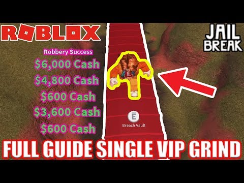[FULL GUIDE] How to Properly grind on VIP Server | Roblox Jailbreak 30 minute grinding test