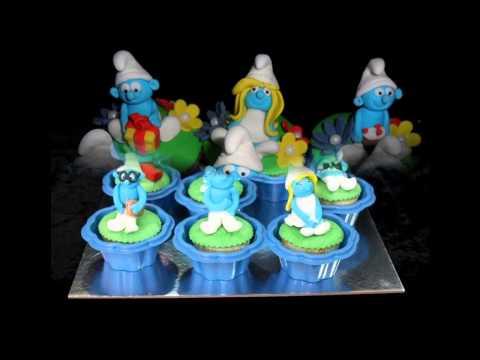 Smurf cake decorations ideas