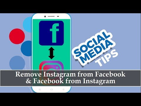 How to Remove Instagram from Facebook App in Android