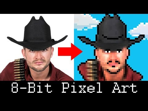 Photoshop: How to Create a Retro, 8-Bit Pixel Portrait from a Photo