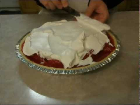 Strawberry Jello Pie tutorial