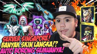 GILA! BORONG SEMUA SKIN LANGKA DI SERVER SINGAPORE!! GARENA BERCANDA!?
