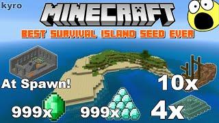 25 minutes) Minecraft Survival Island Seed Video