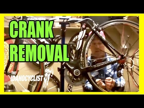 How To Remove A Sram Crank From a Bottom Bracket