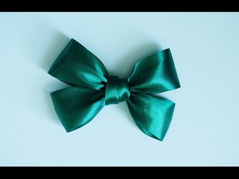 How to make double bow ribbon!