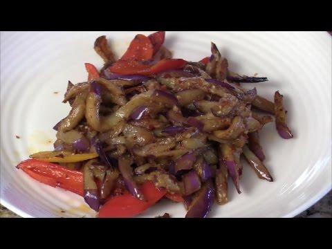 Simple Stir-fry Eggplants