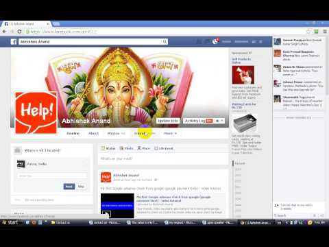 How to remove unwanted person from facebook friends list - Hindi video tutorial