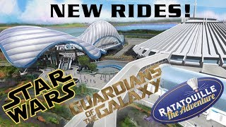 Disney World Announces Star Wars Hotel, Tron Coaster, & Guardians Ride! D23 2017 RECAP!