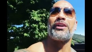 The Rock Reacts To Eclipse While On Set Shooting Fast And Furious 9