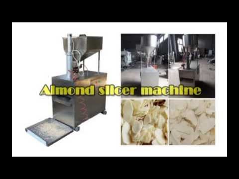 Nut & Almond Slicer Machine, Almond Slice Cutting Machines