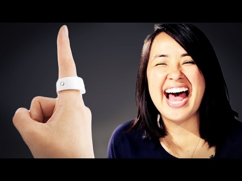 People Try A Smart Ring That Controls Your Phone