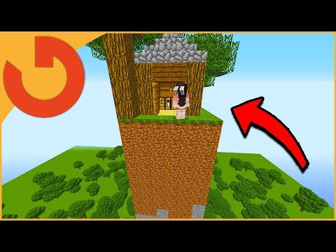 SLOWLY MOVING NOOBS HOUSE UNTIL HE NOTICES! (Minecraft Trolling)