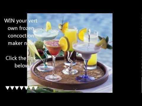 WIN A Margaritaville Bahamas 36-Ounce Frozen-Concoction Maker
