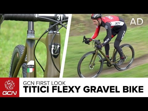 GCN's First Look: Titici Flexy Gravel Bike