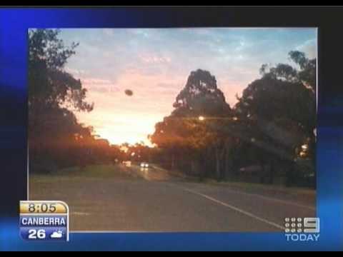 UFO sighting over Sydney - Original Captures - March 23, 2010
