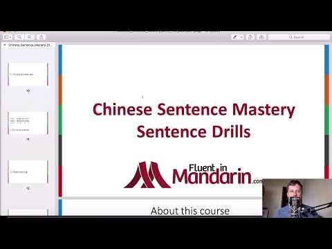How to Build Fluency in Chinese with Sentence Mastery