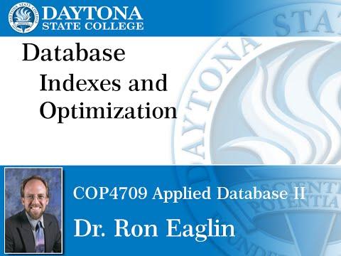 Database - Indexes And Optimization
