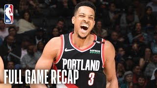 TRAIL BLAZERS vs CLIPPERS | C.J. McCollum Goes Off In The 4th Quarter | March 12, 2019