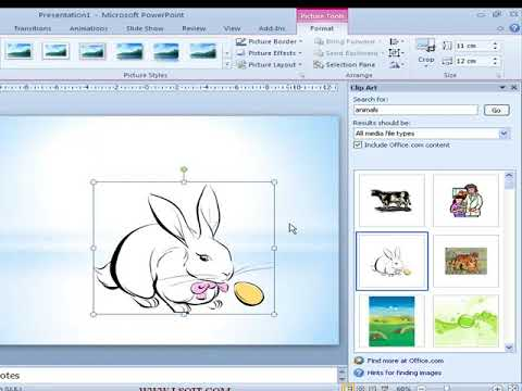 Mini Clip in PowerPoint 2010  Power Point  Video Tutorials in Hindi -LSOIT.COM
