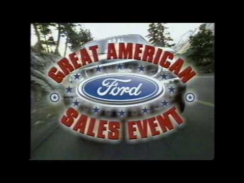 Great American Ford Sales Event commercial (2002)