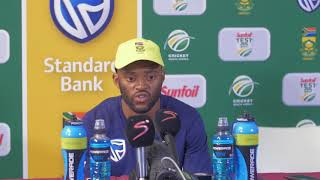 Proteas overcome double setback to push for victory