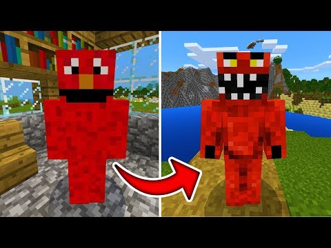 Good Elmo is actually Evil Elmo in Minecraft! (WE FIGURED IT ALL OUT)