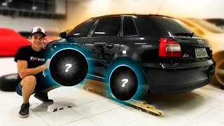 NOVAS RODAS PARA O CARRO DA MINHA NAMORADA! *Audi A3 T*