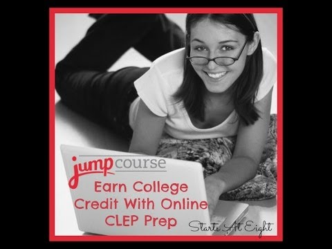 Earn College Credit with Online CLEP Prep from JumpCOurse