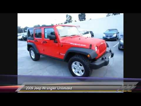 2009 Jeep Wrangler Unlimited Live  La Crescenta CA A22959A