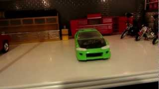 Mitsubishi Eclipse fast and furious Model car