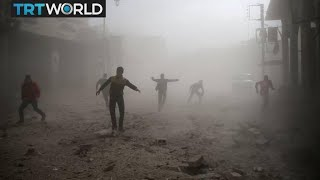 The War in Syria: Continued fighting blocks aid in Eastern Ghouta