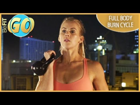 Full Body Burn Cycle Circuit Workout: 20 Mins- BeFiT GO