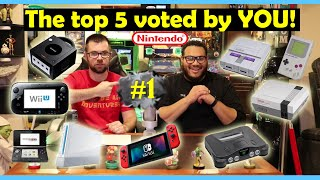The top 5 Nintendo consoles as chosen by the community (Show-N-Tell)