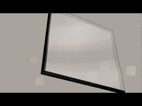 What is double glazing?