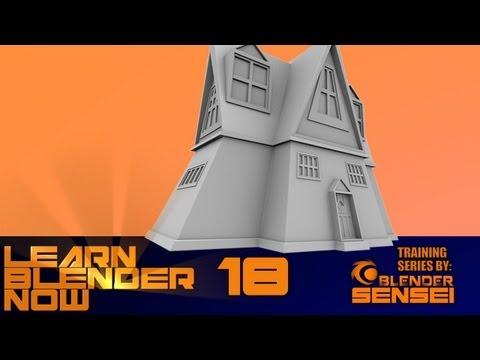 LBN18 Modeling A House In Blender