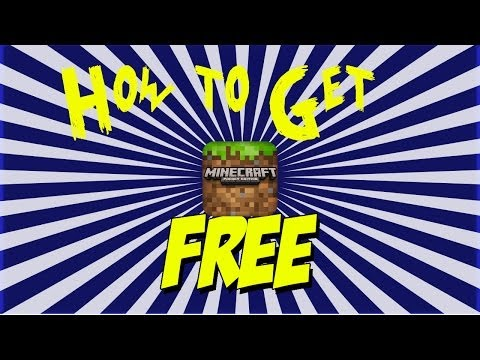 How to get Minecraft PE for Free!