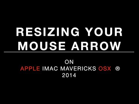 How to make mouse-cursor-arrow bigger - Mac