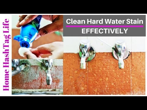Hard Water Stains Cleaning Tips & Tricks For Indian Kitchen Tiles!